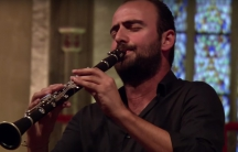 Kinan Azmeh, a Syrian clarinet player who lives in New York, performs at Germany's Morgenland Festival Osnabrück in 2010.