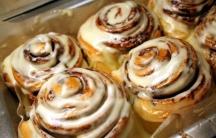 The classic Cinnabon roll.