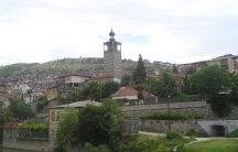 The scenic town of Veles, Macedonia, is home to at least 100 false US news sites.