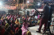 Hallelujah performs at an annual prayer event in Kasur, Pakistan.