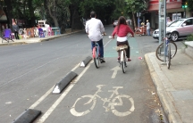 Mexico City now has nearly 40 miles of dedicated bike lanes and plans for much more.