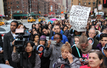 NYC dam protest