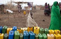 Ethiopian drought/water jugs