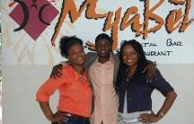 The founding partners of Haiti's Myabèl restaurant