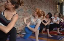 Yoga class in Washington, DC