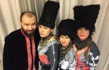Members of the Ukrainian band DakhaBrakha