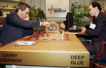Garry Kasparov faced off against Deep Blue, IBM's chess-playing computer in 1997. Deep Blue was able to imagine an average of 200,000,000 positions per second. Kasparov ended up losing the match.