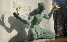 Spirit of Detroit statute, Detroit, Michigan
