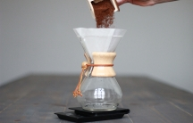 The Chemex brewer, made in Chicopee, Mass., is a popular brewing device among coffee aficionados — and British spies.