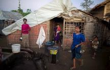 IDP Camp in Sittwe