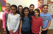 5th Grade Girls Attending Driscoll Elementary School in Brookline, Massachusetts