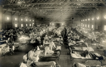 1918 flu Camp Funston