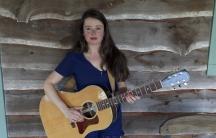 Emily Scott Robinson in Wimberley, Texas during SXSW