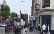 East London street scene