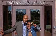 At the University of Michigan Engineering Center