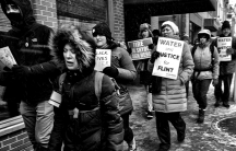 Flint water protest