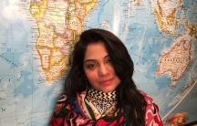 Pakistan singer Sanam Marvi in our studios at WGBH
