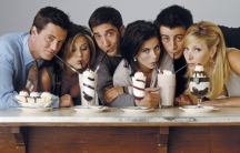 """The cast of the sitcom """"Friends,"""" which is one of the Western shows being smuggled to North Koreans by human rights activists and defectors."""