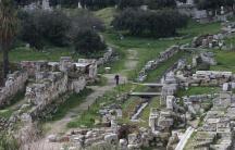 Athens cemetery