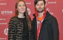"Directors Frida Barkfors and Lasse Barkfors attend the ""Pervert Park"" Premiere during the 2015 Sundance Film Festival on January 26, 2015 in Park City, Utah."