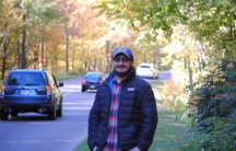 """Afghan journalist Habib Zahori made a cold trek across the US-Canada border on foot and on bicycle. """"I remember thinking, wishing, 'Oh God, please, please send someone to arrest me!' """""""