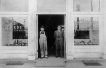 Gijiu Kitazawa (left) started the Kitazawa Seed Company back in 1917. He had to restart the company after his family was sent to a prison camp for Japanese Americans during World War II.