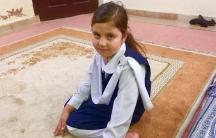 Eman Khan is 5 years old