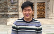 Ji-Ho Park on the Duke University campus