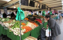 The Aligre market in Paris is open every day except Monday. But when vendors came to work on the Saturday after the attacks, they found the market closed. That never happens, says Eskander Dridi, who sells vegetables there.