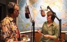 Marco Werman and April Peavey.