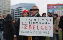 Belgians, Flemish and Walloon Alike, Protest Against Their Country's Lack of a Federal Government