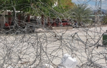 Behind this tangle of barbed wire in the Place d'Armes in Gonaives, a boy was sexually assaulted by UN peacekeepers, according to a UN investigation.