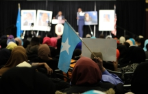Somali Americans recently gathered at a banquet hall in Columbus, Ohio, to celebrate Somalia's new president, Mohamed Abdullahi Mohamed.