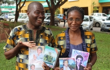 Frank and Miriam Kuseni are gospel artists based in Lilongwe, Malawi. They were forced to stop selling their CDs on the street.