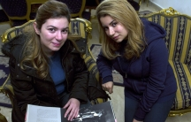 Maya and Nancy Yamout, sisters who have spent the last two years interviewing accused militants in Roumieh prison.