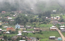 'A wide variety of churches now dot the misty landscape of Guatemala's Western Highlands.'
