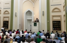 Shaykh Yasir Fahmy preached on Friday, September 9th, at the Islamic Center of Boston Culture Center about the meaning of the Muslim holiday of Eid al-Adha.