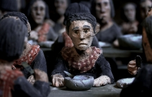 "Director Rithy Panh uses clay figurines to represent Cambodians in his Oscar-nominated film memoir ""The Missing Picture"". It's about his boyhood memories of living under the Khmer Rouge from 1974 to 1978. Panh lost almost every member of his immediate and"