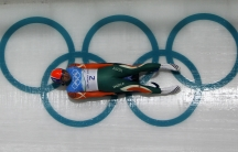 India's Shiva K.P. Keshavan speeds down the track during a training run for the men's singles luge in preparation for the Vancouver 2010 Winter Olympics in Whistler, British Columbia. Keshavan will be at Sochi, along with two other athletes from India, bu