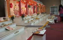 A Hindu temple in South Bend, Indiana.