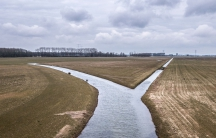 Dikes once protected this broad area near the Dutch city of Nijmegen from flooding. But under a new policy for managing rising water levels due to climate change, the dikes have been moved back to allow a branch of the Rhine River to broaden out into its