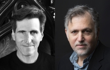 Playwright Paul Rudnick (left) and Jesse Green (right), The New York Times Co-Chief Theater Critic
