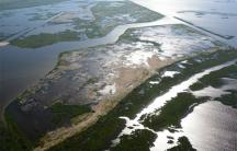 Lake Hermitage's marsh creation project