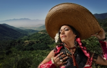 Mexican-American singer Lila Downs is voting in her first election