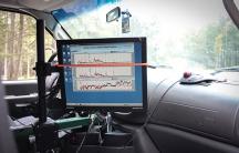 Mobile methane sensors