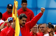 Venezuela's President Nicolás Maduro during the closing campaign ceremony for the Constituent Assembly election in Caracas, Venezuela, on July 27.