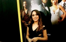"Mayssa Karaa at the premiere of ""American Hustle."""