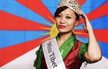 Miss Tibet 2013, Tenzing Lhamo, is a Tibetan American living in Madison, Wisconsin.