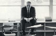 High school teacher Mr. Sedlacek 1970