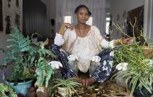 Brooklyn-based Kenyan artist Wangechi Mutu.